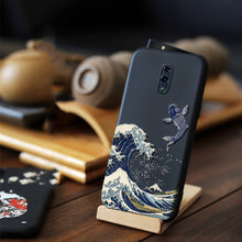 Load image into Gallery viewer, for OPPO Reno Ace 10X ZOOM Reno 3 Pro 2 Z 5G Realme X2 Pro Case Embossed 3D Relief Matte Soft Cover Reno2 LICOERS Official Funda