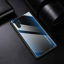 Load image into Gallery viewer, For Samsung Galaxy 10 Case Luxury Hard Tempered glass Gradient protective back cover case for samsung note 10 plus note10 pro