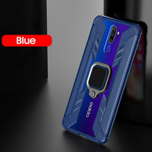 Load image into Gallery viewer, KEYSION Shockproof Armor Case for OPPO A9 2020 A5 2020 A11X Stand Car Magnetic Holder Ring Phone Cover for OPPO F11 F11 Pro Reno