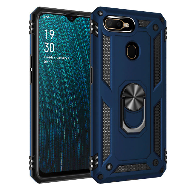 OPPO A5S Case Heavy Duty Tough Rugged Armor Case Kickstand Shockproof Case For OPPO A5S CPH1909 A 5S OPPOA5S OPPO AX5S