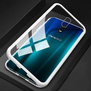 360 Full Protect Magnetic Case For OPPO Realme XT Case For OPPO Reno 2 2Z 2F Realme 5 3 Pro X Lite X2 A9 A5 2020 F9 A5 A7 Covers
