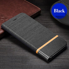 Load image into Gallery viewer, PU Leather Wallet Case For For OPPO Reno 2F Business Phone Case For For OPPO Reno 2Z Book Case Soft Silicone Back Cover