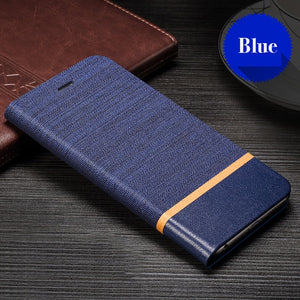 PU Leather Wallet Case For For OPPO Reno 2F Business Phone Case For For OPPO Reno 2Z Book Case Soft Silicone Back Cover
