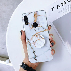 for Xiaomi Redmi Note 7 Case Soft Case sFor Coque Xiaomi Redmi Note 7 5 6 K20 Pro Cover Xiomi Mi 9 9T 8 Lite Cases Marble Case