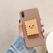 Load image into Gallery viewer, For Xiaomi Redmi Note 8 Pro 7 5 6 4X Case 3D Cute Cartoon Avocado Flower Foldable Holder Cover For Redmi K20 7 8A 6 6A Soft Case