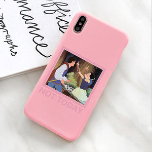 Spoof Design Funny Princess Phone Case for Coque Samsung A20 A30 A40 A50 A60 A70 S7 S8 S9 S10 PLUS Soft Cover Cases for Galaxy