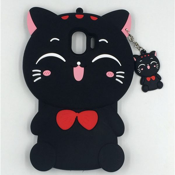 For Samsung Galaxy J2 Pro 2018 Case For Samsung J2 Pro 2018 J250F Case Silicon Soft 3D Cute Cartoon Phone Cover J2 Pro J250 2018