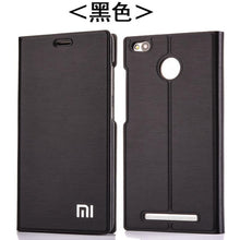 Load image into Gallery viewer, New Arrival For Xiaomi Redmi 3 /3S/3X, Luxury Slim Style Flip Leather Case For Xiaomi Redmi 3s Redmi 3x Redmi 3 Cover Bag