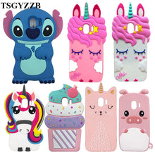 Load image into Gallery viewer, For Samsung Galaxy J2 Pro 2018 Case For Samsung J2 Pro 2018 J250F Case Silicon Soft 3D Cute Cartoon Phone Cover J2 Pro J250 2018