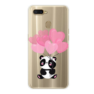OPPO A5S Case OPPO AX5S Case Silicone TPU Cover Cute Phone Case On For OPPO A5S CPH1909 CPH 1909 OPPOAX5S OPPOA5S Case Soft