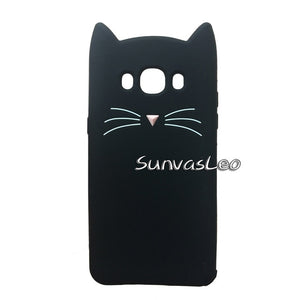 For Samsung Galaxy J1 J3 J5 J7 A5 A7 (2015)(2016) 3D Case Cartoon Soft Silicone Cover Phone Cases Fundas Coque Shockproof