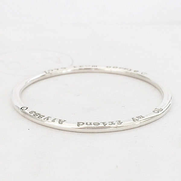 Organic Halo Girls Bangle 3mm