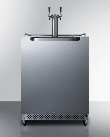 Wide Built-In Outdoor Coffee Kegerator