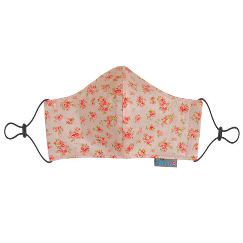 Pink Posy Reusable Cotton Face Mask