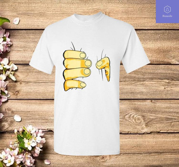 3D Printed T-shirt Big Hand Funny T-Shirts - Teetaho