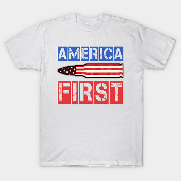 America First Funny T-Shirt