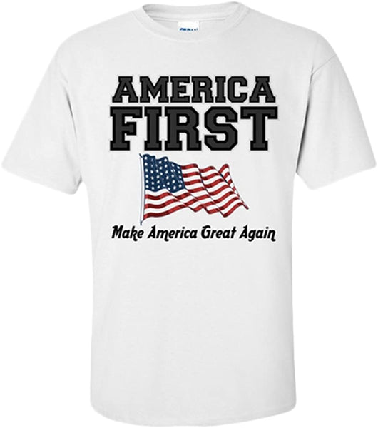 America First Make America Great Again T-Shirt