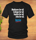 Bernie Sanders 2020 T-shirt Medicare College Justice for All - Teetaho