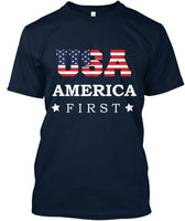 Best Patriotic t shirt of USA America First T shirt