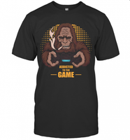 Bigfoot Addicted To The Game T-Shirt