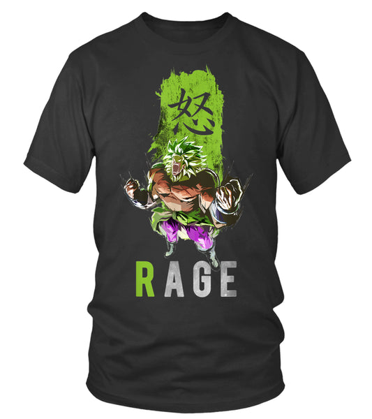 Broly the Legendary Fighter Rage T-shirt