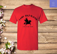 Camp Half Blood T-Shirt Long Island Sound Camp Jupiter Greek Mythology T Shirt - Teetaho