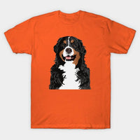 Cute Bernese Mountain Dog T-Shirt - Teetaho