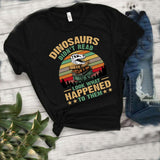 Dinosaurs Did Not Read Book Lover T-Shirt