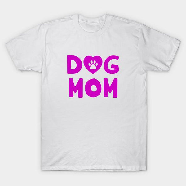 Dog Mom Heart Paw T-Shirt Mother Day Gift Ideas - Teetaho