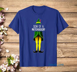 Elf Quote Son Of A Nutcracker Funny T Shirt - Teetaho