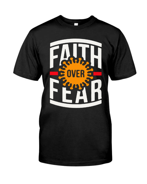 Faith Over Fear-Coronavirus Classic T-Shirt