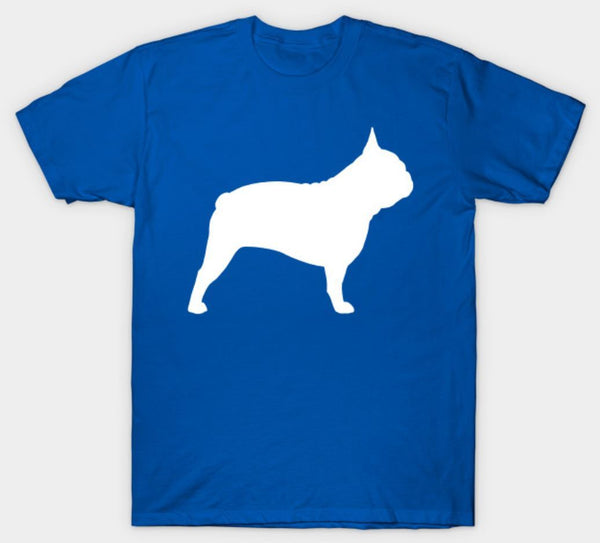 Silhouette French Bulldog T-Shirt - Teetaho