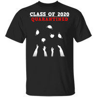 Funny Senior & Friends quarantine graduation T-Shirt