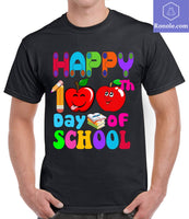 Funny Happy 100 Days of School T-Shirt Ideas for Teachers and Student - Teetaho