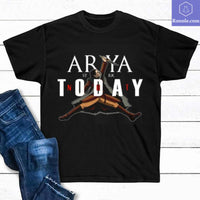GOT Game Of Thrones Arya Stark Not Today T Shirt-Gifts For Men, Women - Teetaho