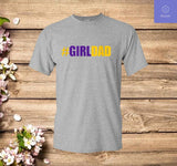 Girldad Girl Dad Father of Daughters Number 8 and 24 T Shirt - Teetaho