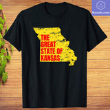 Great State of Kansas Meme President Trump Missouri T-Shirt - Teetaho