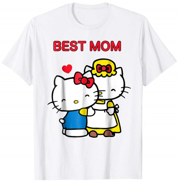 Hello Kitty Mother's Day Best Mom T- Shirt - Teetaho