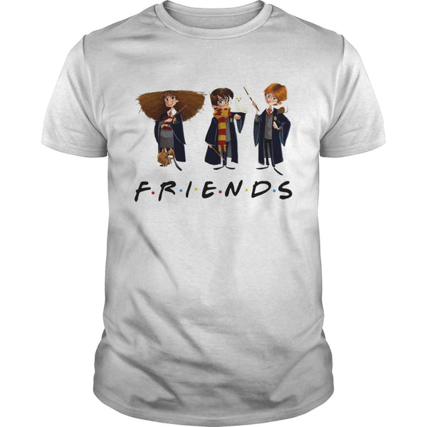 Hermione Granger Harry Potter and Ron Weasley Friends TV Show T Shirt