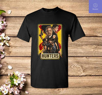 Hunters Poster Art T-Shirt - Teetaho