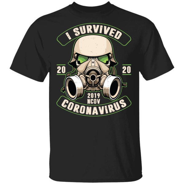 I Survived Coronavirus 2020 2019-nCoV T-Shirt - Teetaho