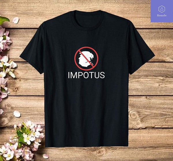 Funny Trump IMPOTUS Impeached T-Shirt - Teetaho