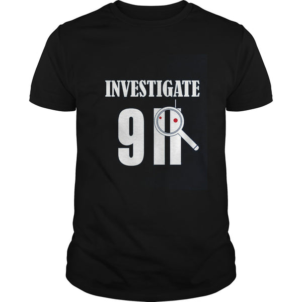 Investigate 911 Patriot Day T shirt