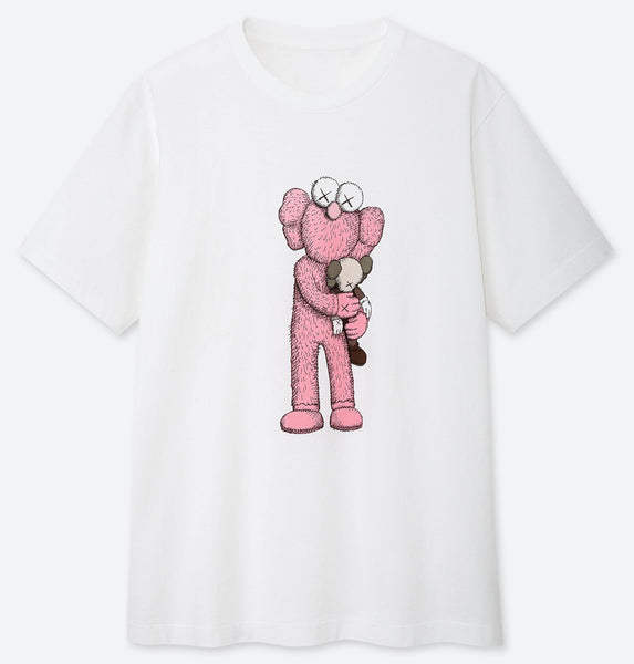 Kaws Ut Short Sleeve Graphic T-shirt - Teetaho