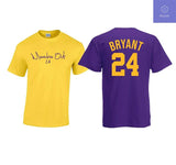 Kobe Bryant Shirt GOAT Black Mamba Los Angeles Basketball 24 8 T Shirt - Teetaho