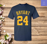 Kobe Bryant Shirt GOAT Black Mamba Los Angeles Basketball 24 T Shirt - Teetaho