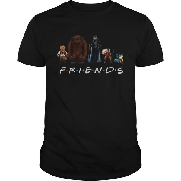 Labyrinth Characters Horror Friends Tv Show T shirt