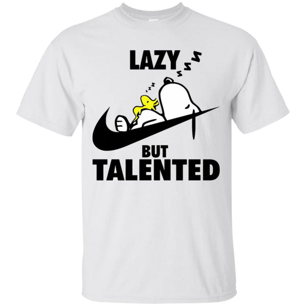 Lazy but Talented Snoopy T-shirt