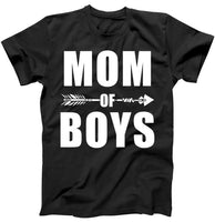 Mom of Boys Cute Mother's Day T-Shirt - Teetaho
