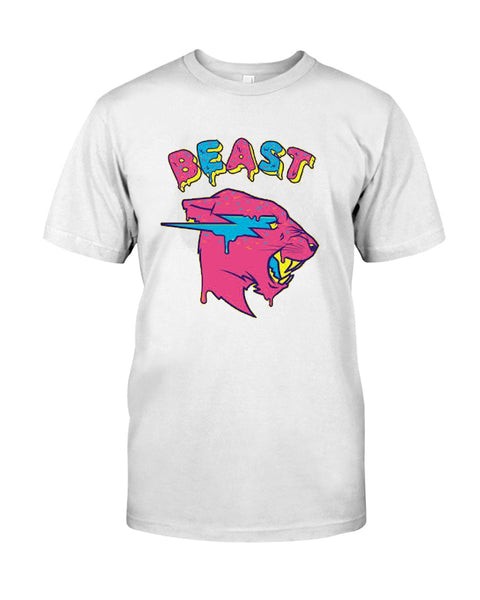 Mr Beast Colorful  T-Shirt